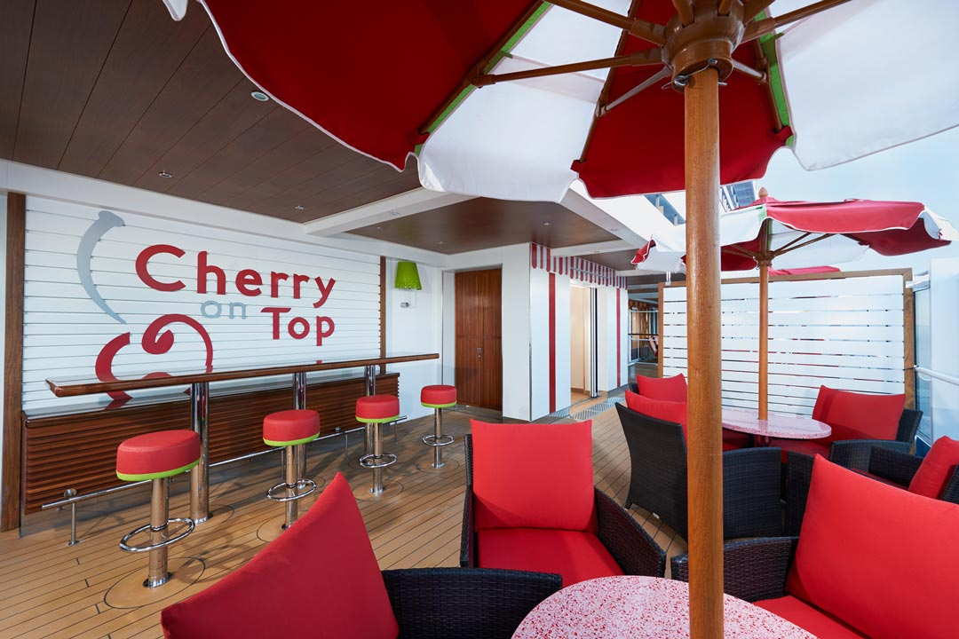 Cherry On Top: Outdoor Seating